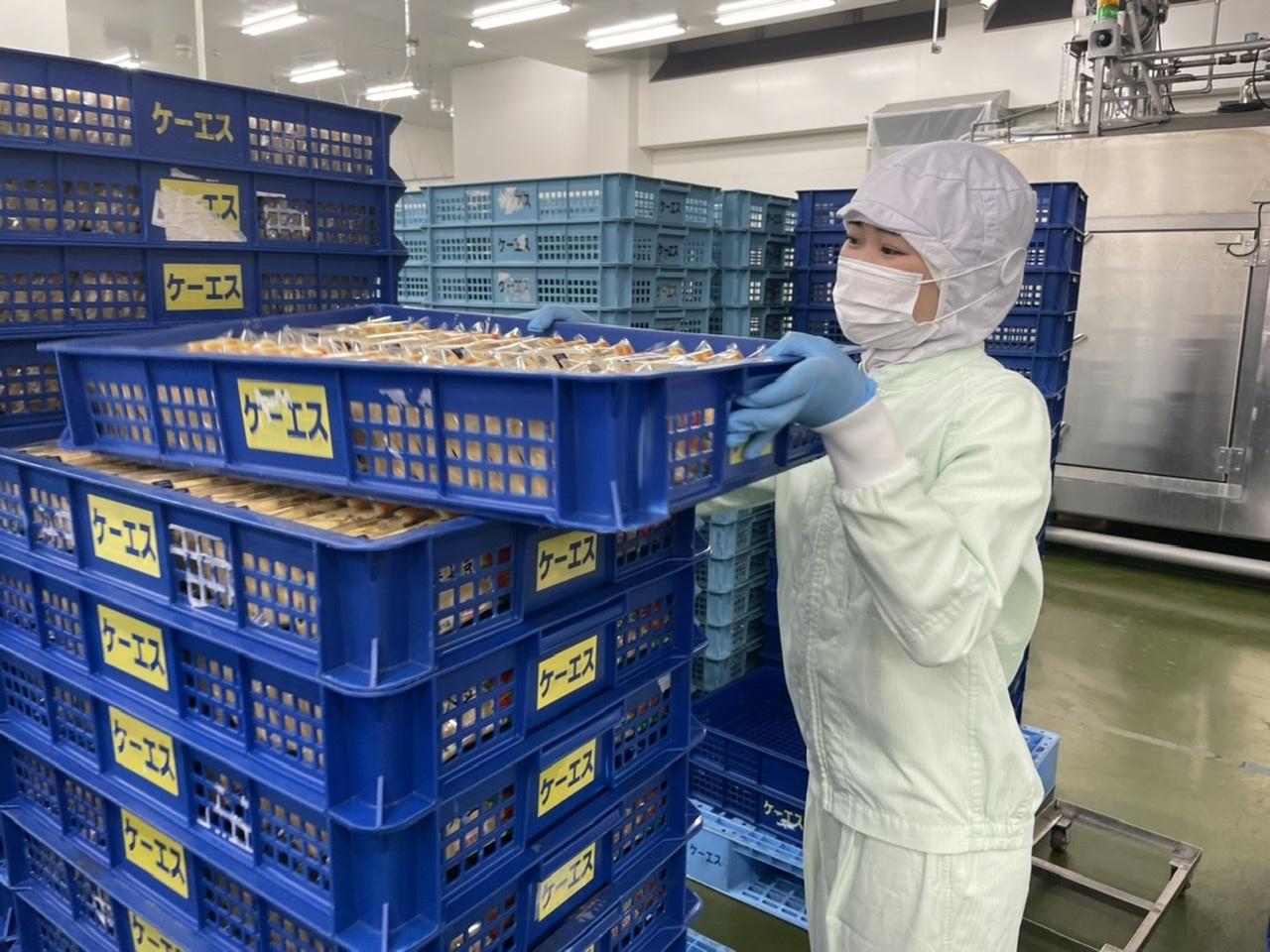 食品メーカーの製造スタッフ (販売:ケーエスフーズ)イメージ